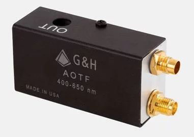 acousto-optic tunable filters from G&H