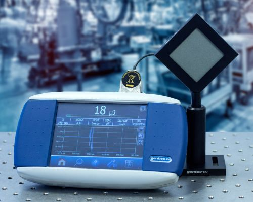 optical energy meters from Gentec Electro-Optics
