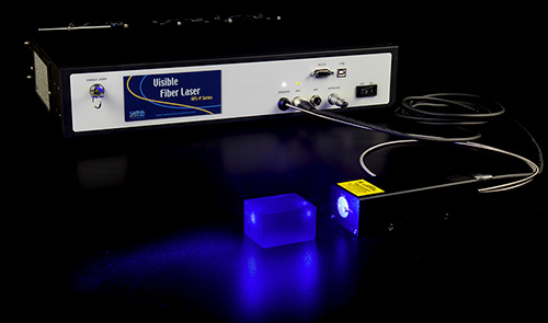 blue lasers from MPB Communications