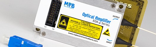 erbium-doped fiber amplifiers from MPB Communications