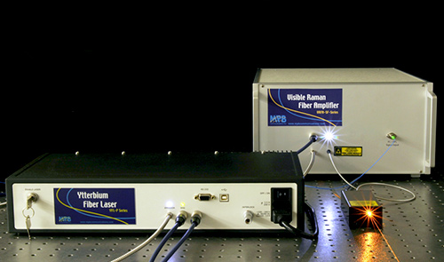 high-power fiber lasers and amplifiers from MPB Communications