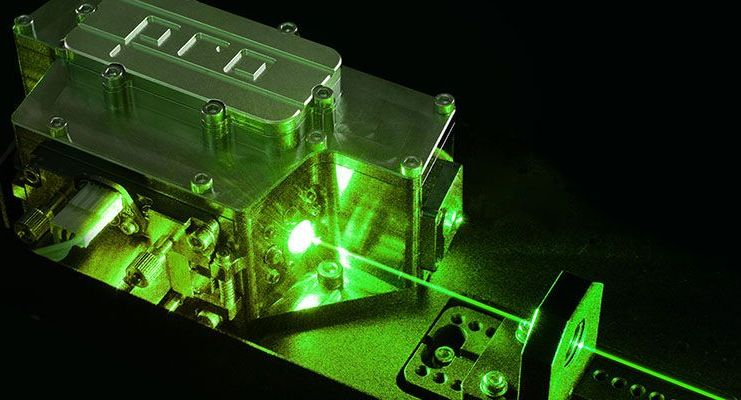 green lasers from TOPTICA Photonics