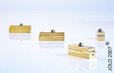 photograph of packaged diode bars