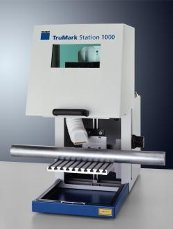 laser marking station