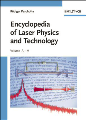 cover of the Encyclopedia of Laser Physics and Technology